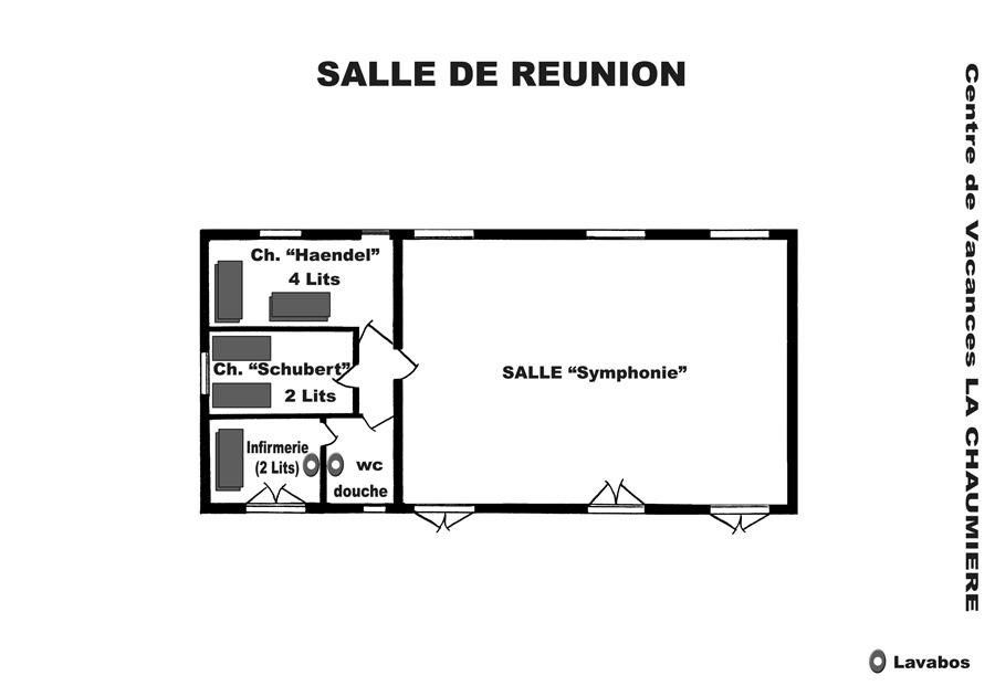 Plan de la salle de reunion